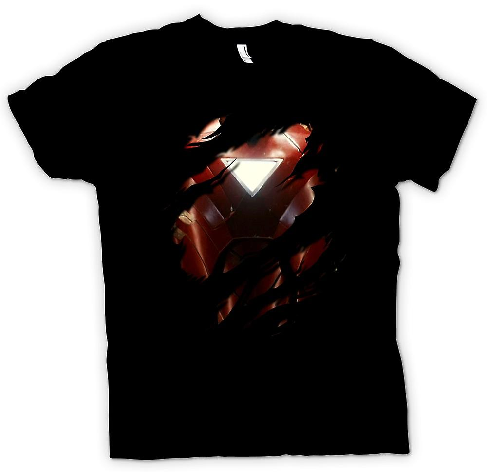 Barn T-shirt - Iron Man 2 triangel Arc - superhjälte slet Design