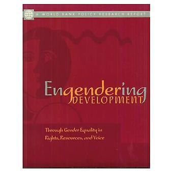 Engendering Development: Via Dener l'égalité en droits, ressources et voix (World Bank Policy Research Report)