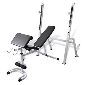 Banc de musculation appareil sport fitness musculation 0702006