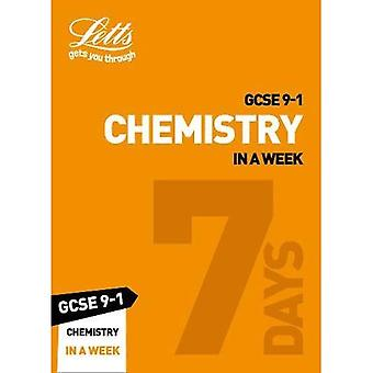 GCSE 9-1 Chemistry In a Week (Letts GCSE 9-1 Revision Success) (Letts GCSE 9-1 Revision Success)