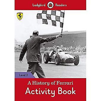 Une histoire de Ferrari cahier d'activités - coccinelle lecteurs niveau 3
