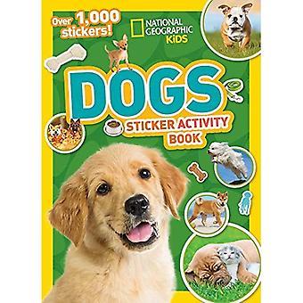Libro de actividades de National Geographic Kids perros pegatina (etiqueta engomada Ng libros de actividades)