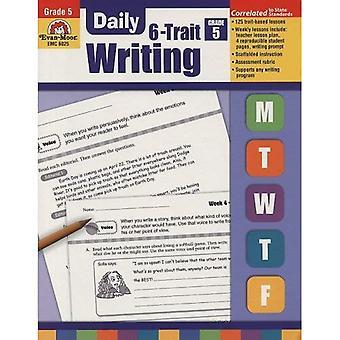 Dagliga 6-drag skrift, årskurs 5