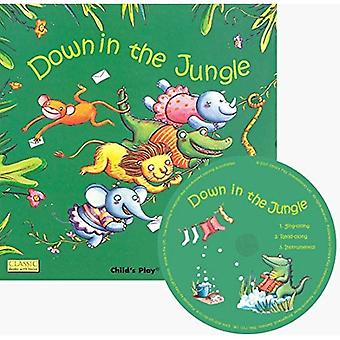Down in the Jungle (Classic Books with Holes US Soft Cover with CD)