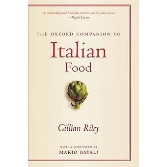 Oxford Companion to italiensk mat av Riley & Gillian