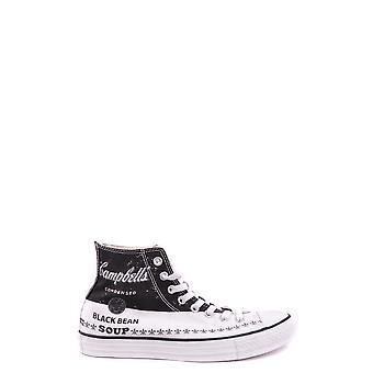 Converse White Fabric Hi Top Sneakers