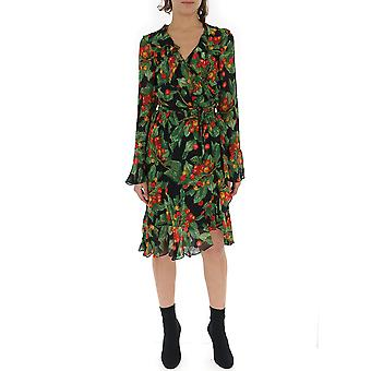 Marc Jacobs Green Viscose Dress