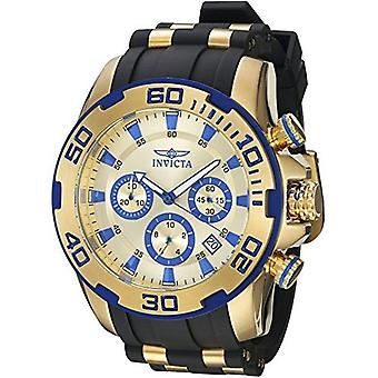 Invicta  Pro Diver 22308  Silicone, Stainless Steel Chronograph  Watch