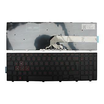 Dell 0KF83C Black Frame Black Windows 8 UK Layout Replacement Laptop Keyboard