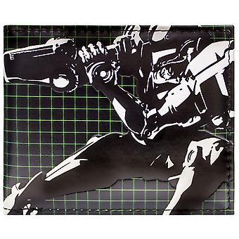 Metroid Samus kehrt Power Suit Black ID & Karte Bi-Fold Geldbörse