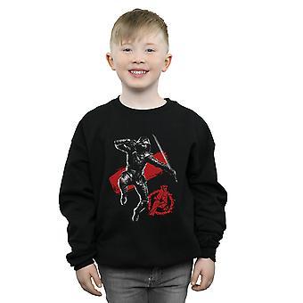 Marvel Boys Avengers Endgame Mono Ronin Sweatshirt