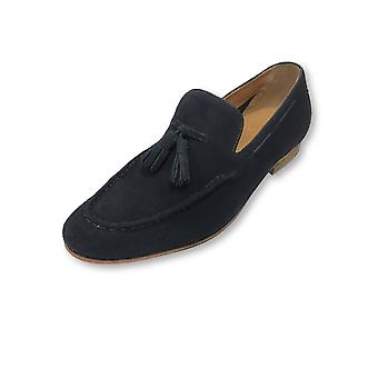 Paolo Vandini KP-Tanner mocka tofs loafers i flottan