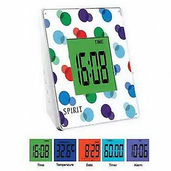 Spirit Touch Sensor 5 Colour Display Alarm Clock ASC004
