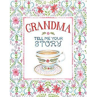 Large Journal Tell Me Your Story Grandma by Ltd Publications Internat