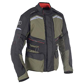 Oxford Army Green Quebec 1,0 giacca moto impermeabile