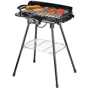 Elektrische barbecue - 2000W - zwart