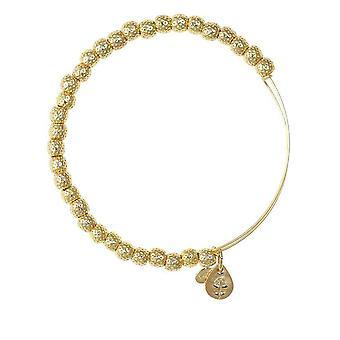 Alex et Ani Euphrates perles bracelet en or BBEB17YG