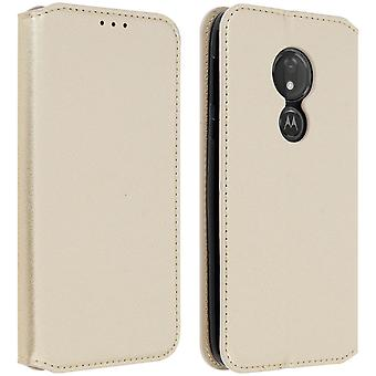 Classic Edition stand case with card slot for Motorola Moto G7 Power - Gold Classic Edition stand case with card slot for Motorola Moto G7 Power - Gold Classic Edition stand case with card slot for Motorola Moto G7 Power - Gold Classic Edition