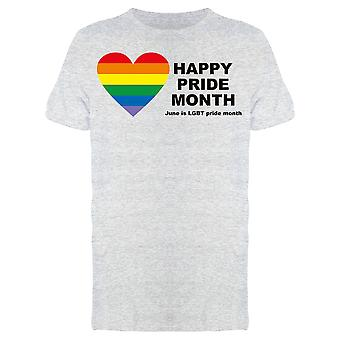 Happy Pride Month Tee Men's -Image by Shutterstock