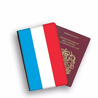 LUXEMBOURG Flag Passport Holder Style Case Cover Protective Wallet Flags design
