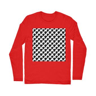 Small hearts classic long sleeve t-shirt