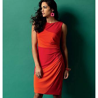 Misses' Dress  6  8  10  12  14 Pattern B5887  A50