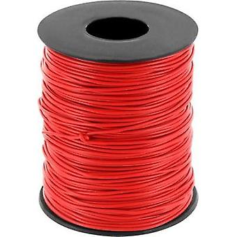 Jumper wire 1 x 0.2 mm² Red BELI-BECO D 105/100 rosso 100 m