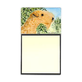Lakeland Terrier Refiillable note di Sticky Note titolare o Postit nota Dispenser SS8888SN