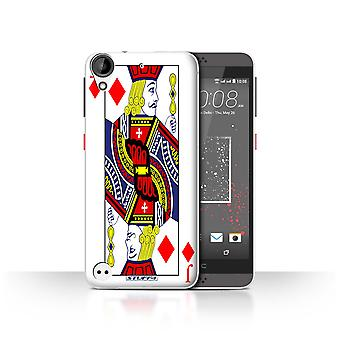 STUFF4 Case/Cover for HTC Desire 530/Jack of Diamonds/Playing Cards