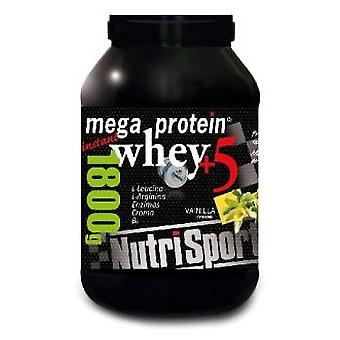 Nutrisport Vanilla Whey Protein 5 Mega 900 Grs (Sport , Proteins and carbohydrates)