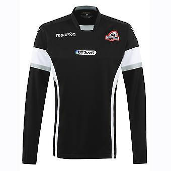 2016-2017 Edinburgh Rugby Training Sweat Top (Black)