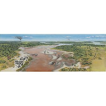 Dinosaur National Monument Panorama spät Jura von Nordamerika Poster Print