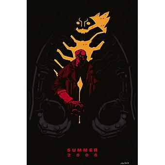 Hellboy 2 The Golden Army Movie Poster Print (27 x 40)