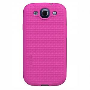 Skech grip shock snap on case cover Galaxy S3 i9300 pink