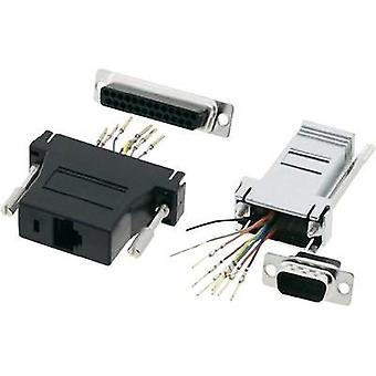 D-SUB adapter D-SUB-plug 9-pin - RJ45 socket MH Connectors DA9-PMJ8-K-RC 1 pc(s)
