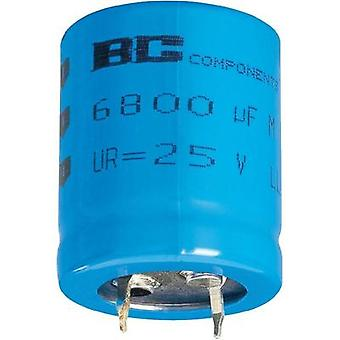 Electrolytic capacitor Snap-in 10 mm 47000 µF 10 V 20 % (Ø x H) 30 mm x 50 mm Vishay 2222 056 44473 1 pc(s)
