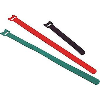 Hook-and-loop cable tie for bundling Hook and loop pad (L x W) 250 mm x 13 mm Yellow Fastech ETK-3-250-0208 1 pc(s)