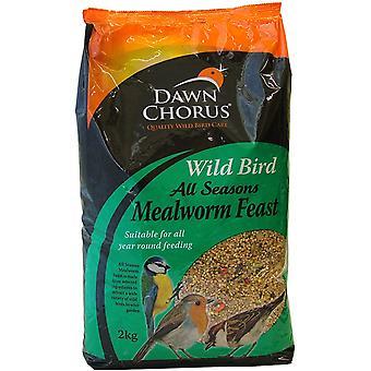 Dawn Chorus vild fugl insekt & Mealworm fest 2kg