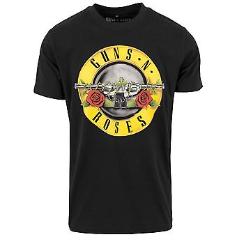 Merchcode shirt - guns n roses-logo black