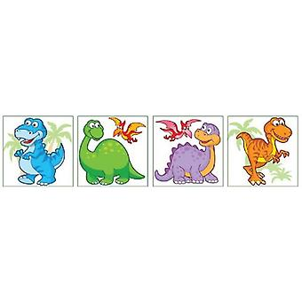 Young Dinosaur Temporary Tattoos - Single