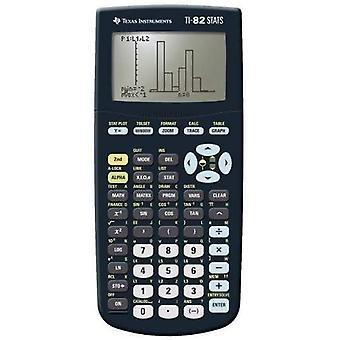Texas instrumenter grafisk kalkulator med statistikkfunksjoner (TI82STATS)