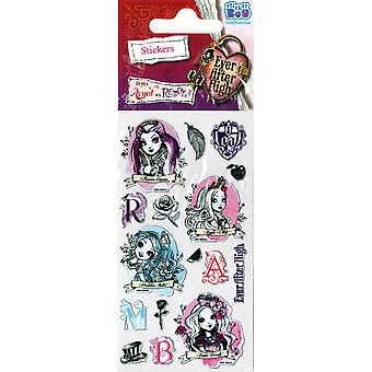 3 x Quality Sticker Sheets | EVER AFTER HIGH FOIL | Party Bags & Decoration
