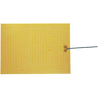 Heating foil self-adhesive 12 Vdc, 12 Vac 35 W Protection type IPX4 (L x W) 400 mm x 290 mm Thermo
