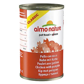Almo Nature Cat Adult Chicken With Pumpkin 140g (Pack of 24)