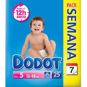 Dodot 13- 18 Kg. 25 (Jeugd , Nappies and Changers , Nappies)