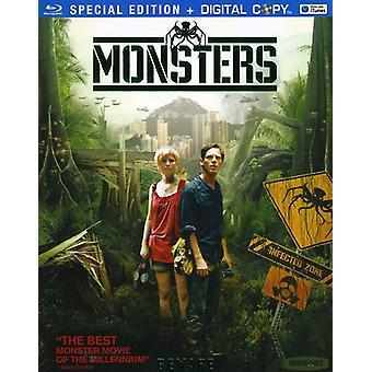 Monsters [BLU-RAY] USA import