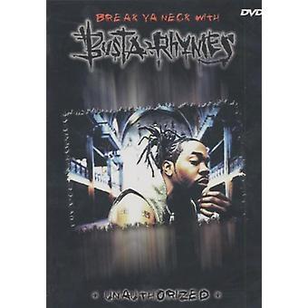 Busta Rhymes - uautoriseret [DVD] USA importerer