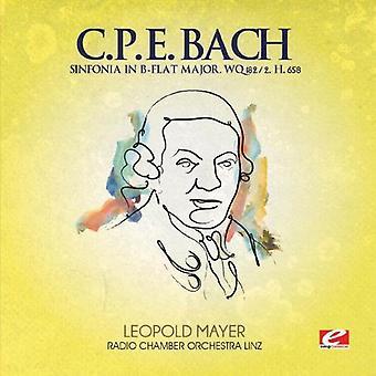 C.P.E. Bach - C.P.E. Bach: Sinfonia in B-Flat Major [CD] USA import