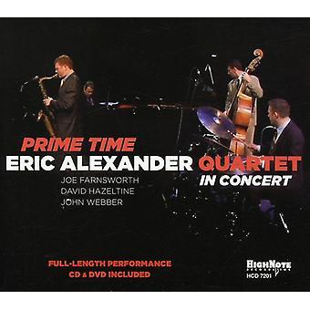 Eric Alexander Quartet - Prime Time: I koncert [CD] USA import