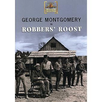Røvere Roost (1955) [DVD] USA importerer